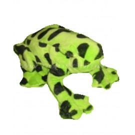 Peluche rana verde e nera 10 cm. peluches wild republic *04560