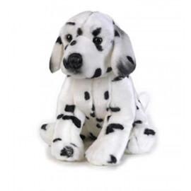 Peluche cane Dalmata Gorky seduto 25 cm. peluches Venturelli *03421 pelusciamo store