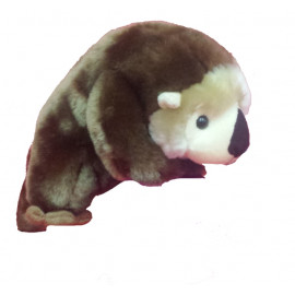 Peluche morbido Wild Republic - Foca marrone 28 cm | Pelusciamo.com