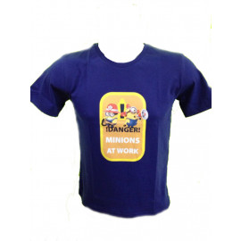 Maglietta, T-Shirt Adulto Minions Danger, Descpicable Me *18274 Cattivissimo Me