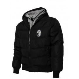 Giacca Juventus Con Cappuccio Bomber Imbottito Juve PS 22314 Logo Storico