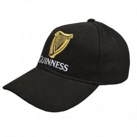 Guinness Beer Cappello Baseball Con Visiera Cappellino Nero PS 04497