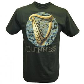 Guinness Beer T-Shirt Uomo Maglietta Arpa Birra PS 09285