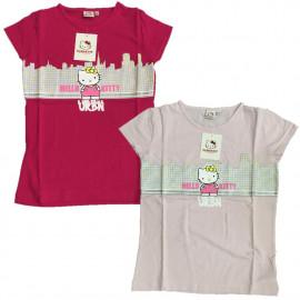 T-shirt Donna Hello Kitty Urban, Maglietta Maniche Corte Sanrio *02820