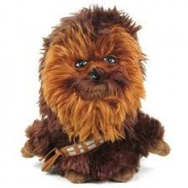 Peluche Star Wars Chewbacca 18 cm. guerre stellari *05778