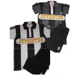 Pigiama Juventus Maglietta + Pantaloncini, Abbigliamento Ufficiale PS 04993