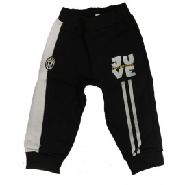 Pantaloni Felpati Tuta Juve Abbigliamento Neonato Juventus PS 09781 Logo Storico