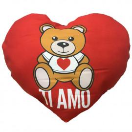 Cuscino Cuore Grande Ti amo Regalo x San Valentino 90X65 Cm PS 04898