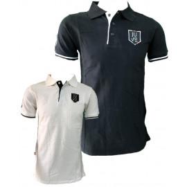 Polo Juventus Bianco Nera Logo Storico T-shirt Juve PS 27055 Pelusciamo Store Marchirolo