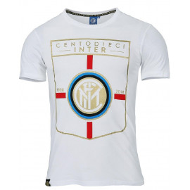 T-Shirt Inter 110 Anniversario Ufficiale Calcio FC Internazionale PS 27199 Pelusciamo Store Marchirolo