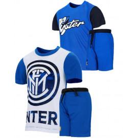 Completino Inter Bambino Abbigliamento Calcio FC Internazionale PS 26763 Pelusciamo Store Marchirolo
