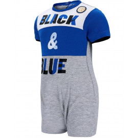 Pagliaccetto Neonato Inter Abbigliamento Ufficiale FC Internazionale PS 27180 pelusciamo store
