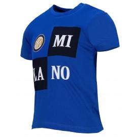 T-Shirt Inter Abbigliamento Ufficiale Calcio Magliette Neonato PS 26735 Pelusciamo Store Marchirolo