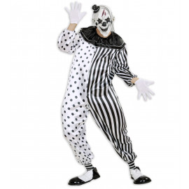 Costume Halloween Adulto Killer Pierrot  *24570 | pelusciamo.com