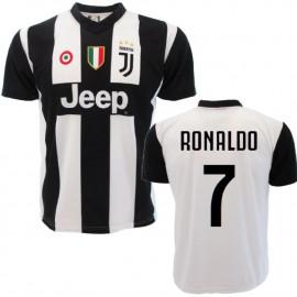 Maglia Ronaldo 7 Maglietta Juventus Replica Ufficiale 2018 / 2019 PS 27365
