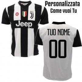 Maglia Juventus Personalizzata Nome e Numero Maglietta Juve Replica 2018 2019 PS 27400