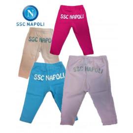 Leggins bambina tifose Ssc Napoli calcio da 6 a 48 mesi *16347