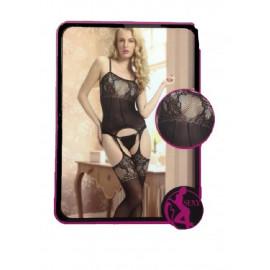 Lingerie Donna ,Completo Tuta Bodysuit con Calze  | Pelusciamo.com