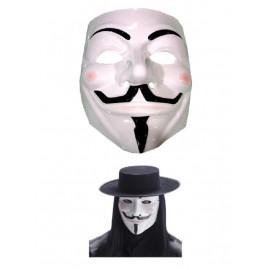Maschera Carnevale Adulto V,  Vendetta  | pelusciamo.com