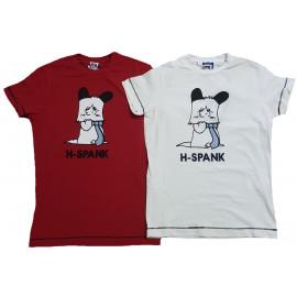 T-Shirt Unisex Cartone Animato Hello Spank  | Pelusciamo.com
