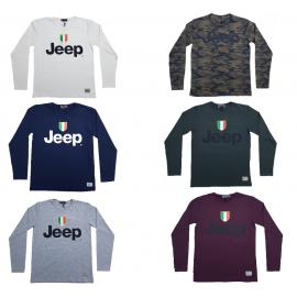 Abbigliamento ufficiale T-Shirt Maglietta manica lunga Uomo Jeep *14593