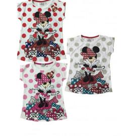 T-shirt Bimba Minnie Glitter, Maglietta Disney  | Pelusciamo.com
