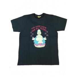 T-Shirt Maglietta Homer Simpson Buddha Abbigliamento Adulto Uomo *05740
