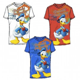 T-Shirt Bambino Paperino, Maglietta corta Bimbo Donald Duck Disney *13368