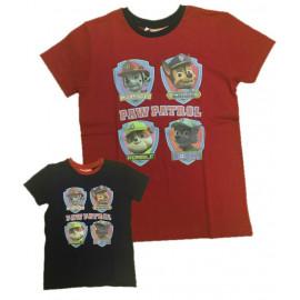 Maglietta Bambino Paw Patrol, T-shirt Bimbo Marshall Chase Rocky Rubble  | Pelusciamo.com