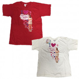 Maglietta Bambina Violetta, T-shirt Maniche Corte Disney | pelusciamo.com