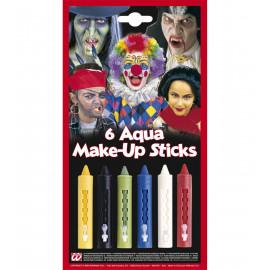 6 Matite  ritraibili colorate per il trucco del viso *03367 Truccabimbi | pelusciamo.com