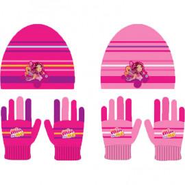 Set invernale bambina cappello guanti Mia and Me Bimba pelusciamo store