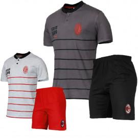 Pigiama Milan Maglia E Pantaloncini Abbigliamento AC Milan PS 06447 pelusciamo store