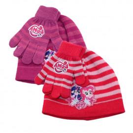Set invernale bambina cappello guanti My little pony Bimba  pelusciamo store