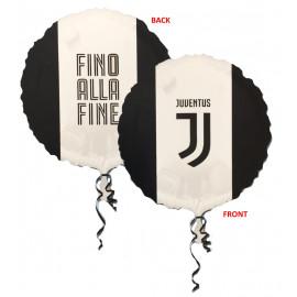 Palloncino Globo Foil Juventus JJ 43 cm PS 09216 Prodotto Ufficiale | pelusciamo.com