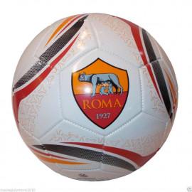 Pallone Calcio in  Cuoio As Roma  Misura 5 | pelusciamo store