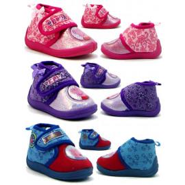 Pantofole a scarpina Peppa Pig con chiusura a strappo *21551