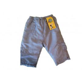 Pantalone invenale bambino microfibra celeste