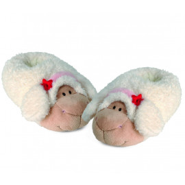 Pantofole In Peluche Calde Moppine Nici Pecora Jolly Sue PS 00916