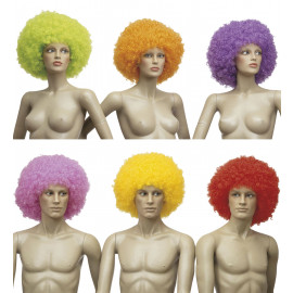 Parrucca Maxy Riccia Jimmy, Costume Carnevale Clown | Pelusciamo.com