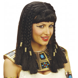 Parrucca da Cleopatra, Accessorio Costume Carnevale | Pelsuciamo.com