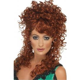 Parrucca da Donna Accessorio costume Carnevale Western Saloon *11737