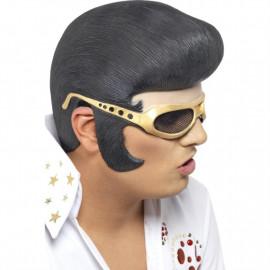 Accessorio costume carnevale Parrucca Elvis Presley smiffys