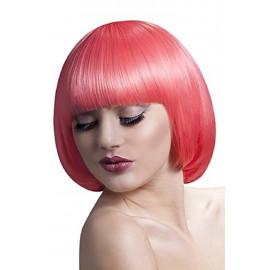 Parrucca Donna Caschetto Rosa Mia Professionale PS 08320 Accessorio Carnevale Pelusciamo Store Marchirolo