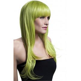Parrucca Donna Lunga Verde Sienna PS 08324 Parrucche Carnevale Pelusciamo Store Marchirolo