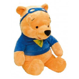 Peluche Disney Winnie The Pooh Super eroe 55 cm. *01242