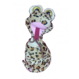 Peluche serpente marroncino con collo lungo - 34 cm *06334