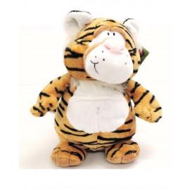 Peluche tigre 25 cm. serie Wild Podgeys Keel Toys *07838