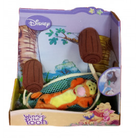 Peluche Disney serie Winnie the Pooh - Tigro sull'amaca box | Pelusciamo.com