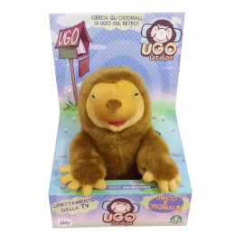 Peluche Ugo la Talpa in box 28 cm morbido pupazzo | Pelusciamo.com